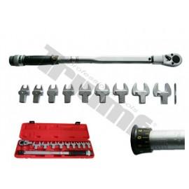 Klucz Dynamometryczny 1/2 40-210 Nm z adapterami Kluczy płaskich 13-30 mm TRIUMF