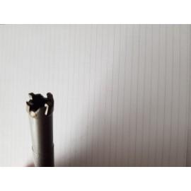 Frez z WKŁADKAMI WĘGLIKOWYMI do wyczystki otworu Ø M8 wokół śruby uchwytu wtryskiwacza Fiat HPI TRIUMF