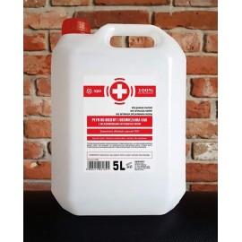 Płyn do higieny i odświeżania rąk z właściwościami antybakteryjnymi  5 L .  SJD PRO-TECH