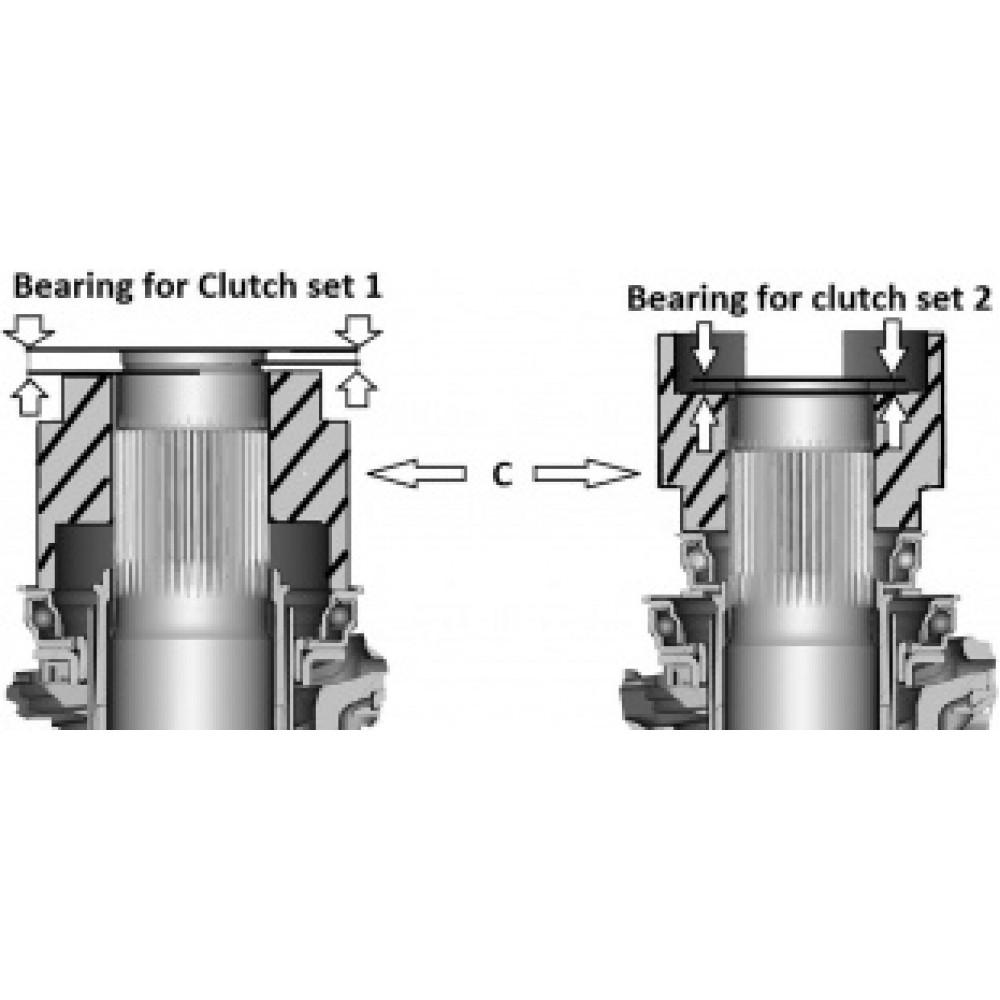 Zestaw do wymiany sprzęgła DSG 6 i 7 biegów VAG LASER