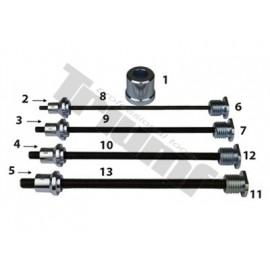 Zestaw adapterów do nitonakrętek 6,8,10 i 12mm WAL..