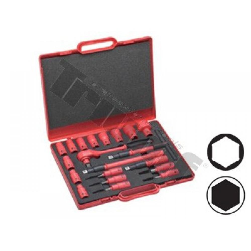 Zestaw narzędziowy VDE izolacja 1000 Volt 20 części TRIUMF PROFESSIONAL