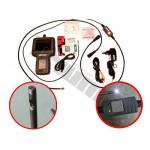 """Endoskop z monitorem 3.5"""" i podwójną kamerą TRIUMF PROFESSIONAL"""