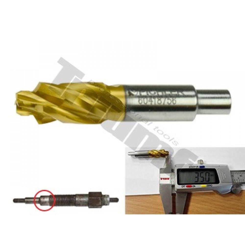 Frez HSS 9.0mm/5.3mm TIN krótki pod M10 RENAULT PICHLER