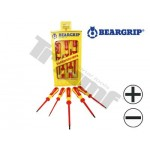 Zestaw wkrętaków 2K VDE 5-częściowy seria 736 PH+PL BEARGRIP