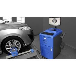 Przyrząd komputerowy do kontroli geometrii ustawienia kół samochodów GEOTEST 60 RADIO PRECYZJA