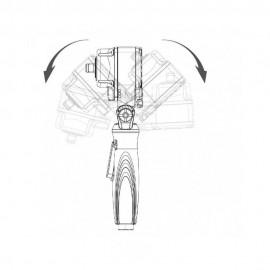 """Klucz udarowy, przegubowy 1/2"""", 500 nm, l: 85 mm"""