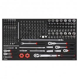 Wózek narzędziowy 8 szuflad z wyposażeniem 485 elementów SONIC EQUIPMENT
