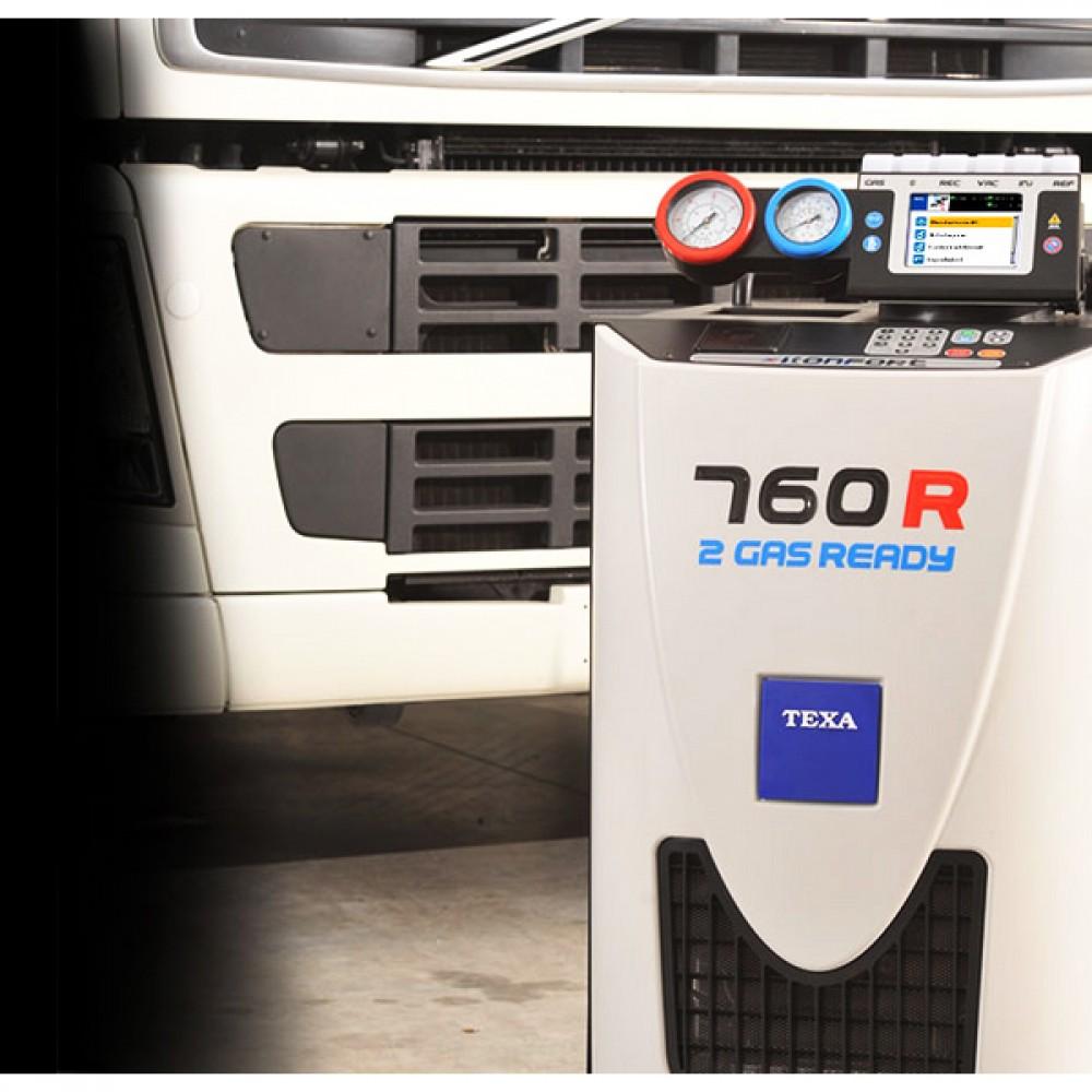 Stacja klimatyzacji TEXA 760R na czynnik R134a TEXA