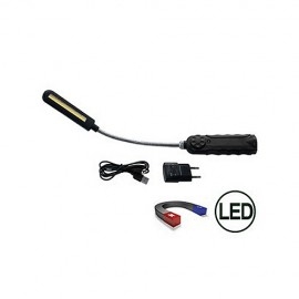 Lampa LED 8W uchylna z magnesem i regulacją strumienia 0-300 LUMEN TRIUMF