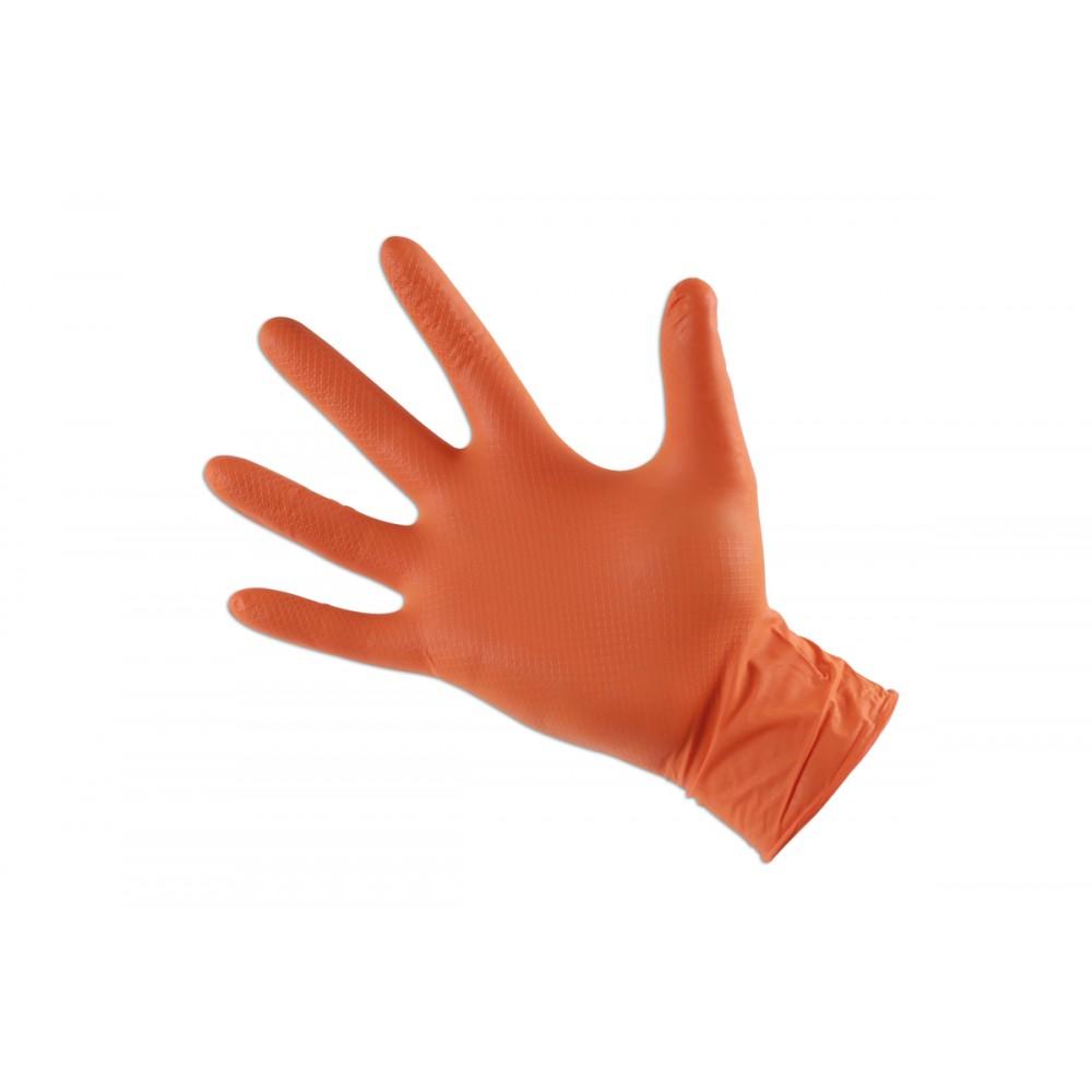 """Rękawice nitrylowe Grippaz XL(10"""") 50szt"""