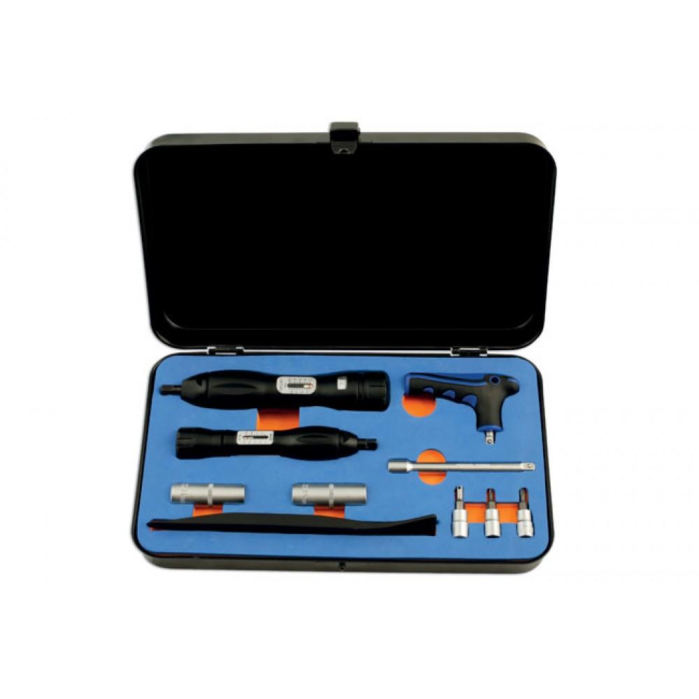 Zestaw narzędzi serwisowych do czujników TPMS, 10 cz LASER