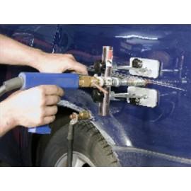 Mała wyciągarka Easy Puller z elektrodą do obkurczania blachy FZ TRIUMF PROFESSIONAL