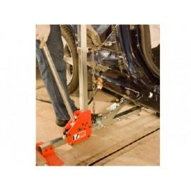 Kolumna do wyciągania, kombinacja przygrzewania punktowego z łańcuchem FZ TRIUMF PROFESSIONAL