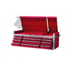 Nadstawka 12 szufladowa szafka na wózek czerwona TRIUMF PROFESSIONAL