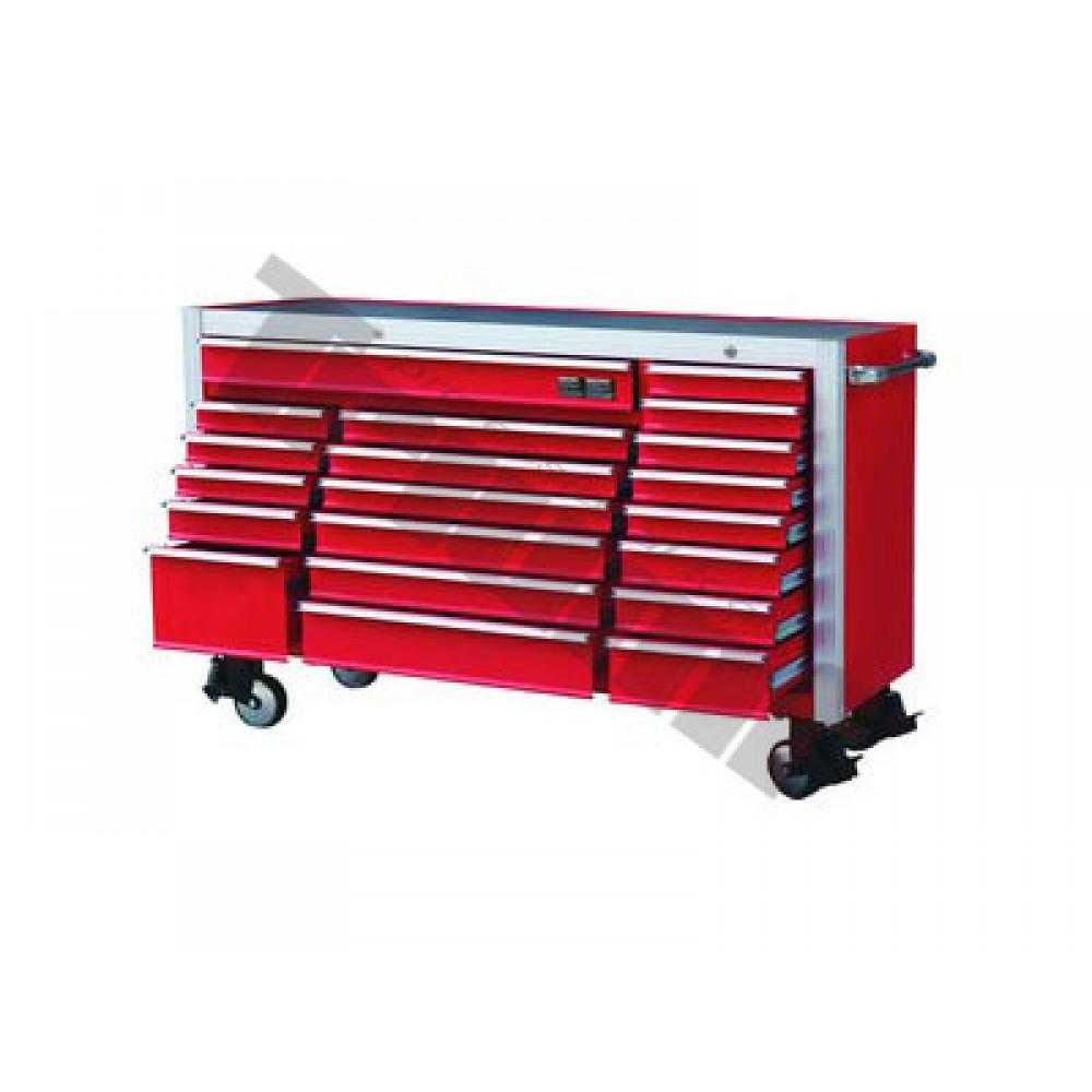 Profesjonalny wózek z 20 szufladami , czerwony TRIUMF PROFESSIONAL