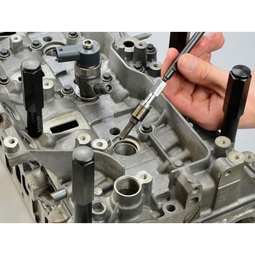 Wyciąganie wtryskiwaczy (ściągacz wtryskiwaczy)  20 ton Renault , Opel , Nissan M9R/M9T/R9M zestaw PICHLER