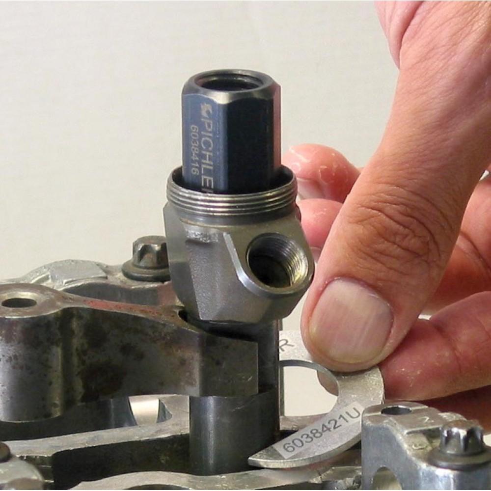 Ściągacz wtryskiwaczy Mercedes CDI zestaw 15 części PICHLER