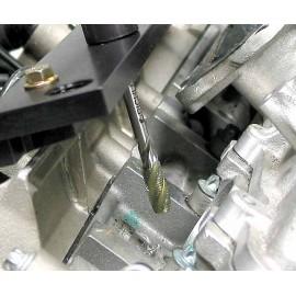Zestaw do wykręcania urwanych świec żarowych M8x1 do Mercedes OM 640, 21 części PICHLER
