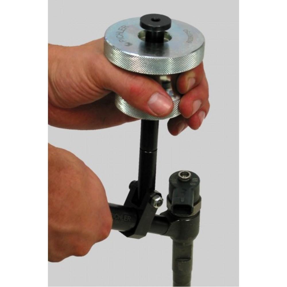 Adaptery wtryskiwaczy do młota bezwładnościowego 8 kg i siłowników hydraulicznych, zestaw 22 części PICHLER