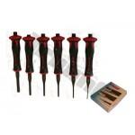 Zestaw wybijaków antywibracyjnych 2 - 8 mm, 6 - sztuk TRIUMF PROFESSIONAL
