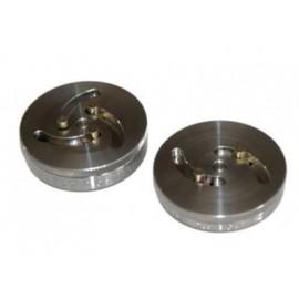 Zestaw uniwersalnych adapterów do klocków hamulcowych z 2 i 3 pinami, 2 części  BMW VAG PSA TRIUMF PROFESSIONAL
