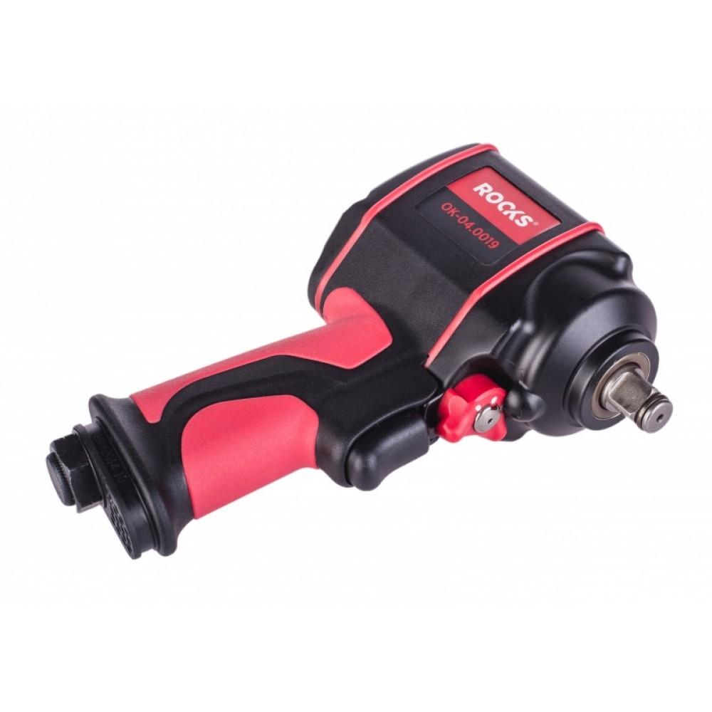 """Klucz udarowy pneumatyczny, przemysłowy,MINI  1/2"""", 610 Nm ROOKS"""