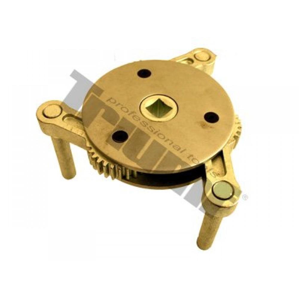 Klucz do filtrów oleju, trójramienny, 95 - 165 mm, samochody ciężarowe TRIUMF