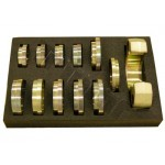 Uniwersalny zestaw do wprasowywania, model cz. 2, 12-części WALLMEK