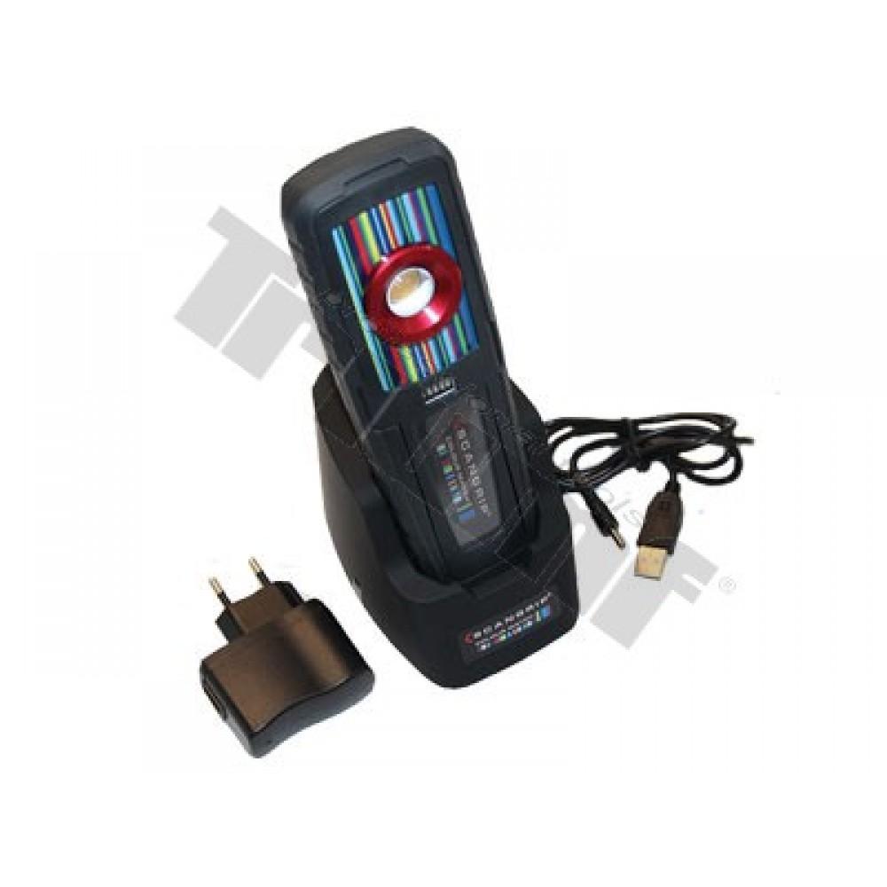 Latarka LED z magnesem Ultra High COB LED 1100/550 lux, 3,7V/2200mAh Li-ion TRIUMF
