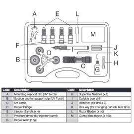 Naprawa pęknięć szyby samochodowej POWER TEC LASER