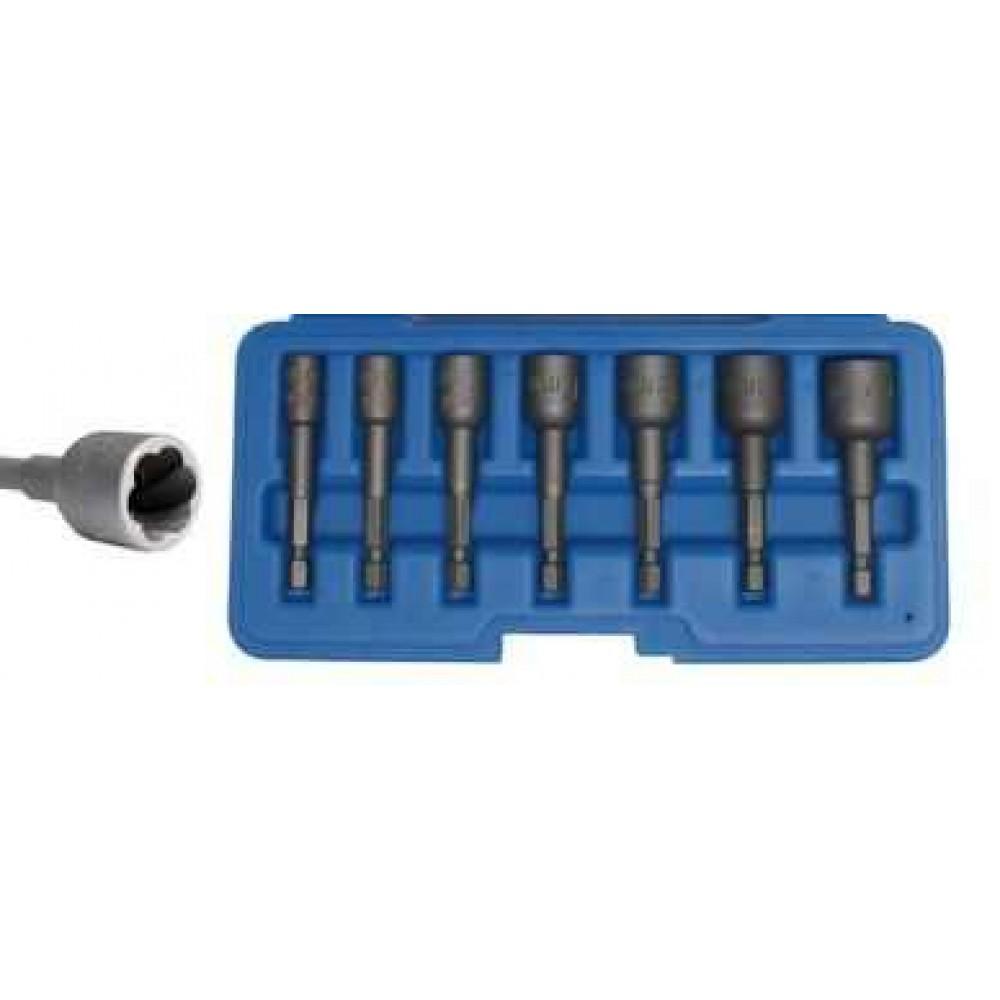 Nasadki, wkrętaki 6-14 mm, 7 szt BGS TECHNIC