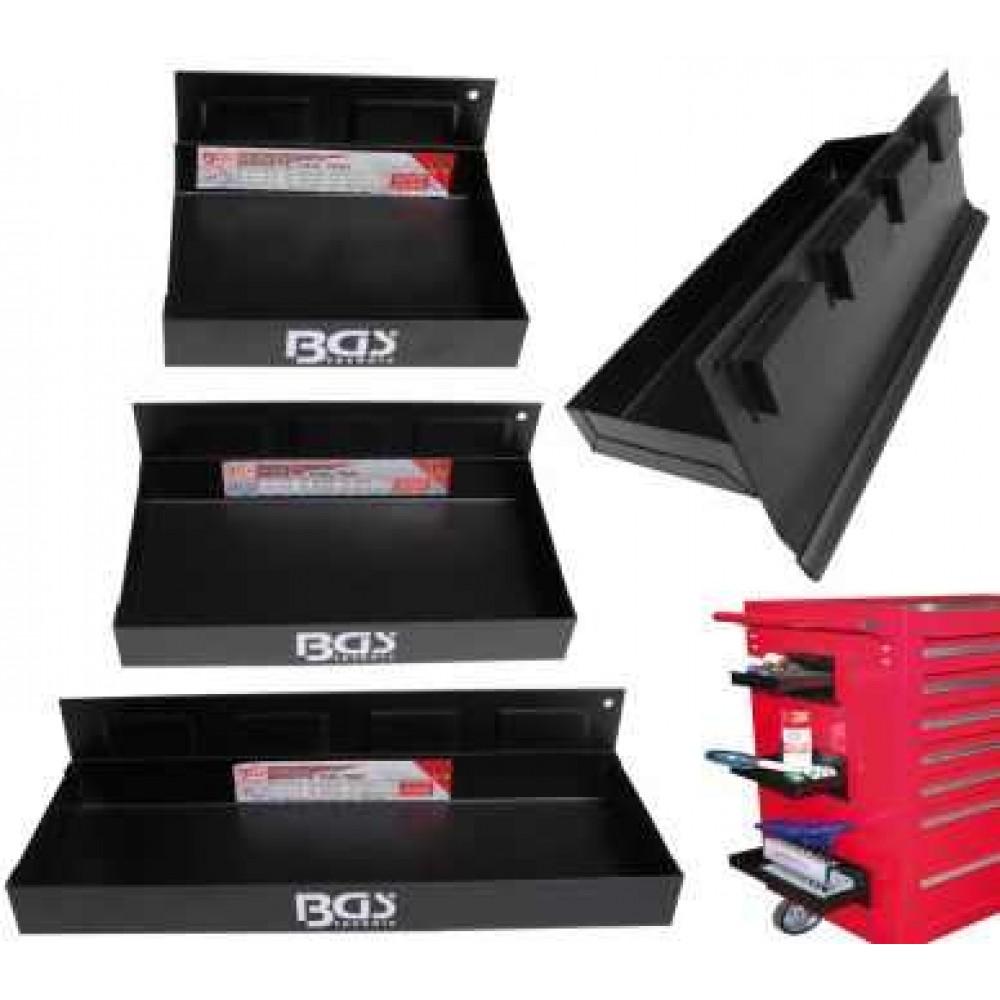 Półki magnetyczne 3 szt. BGS TECHNIC
