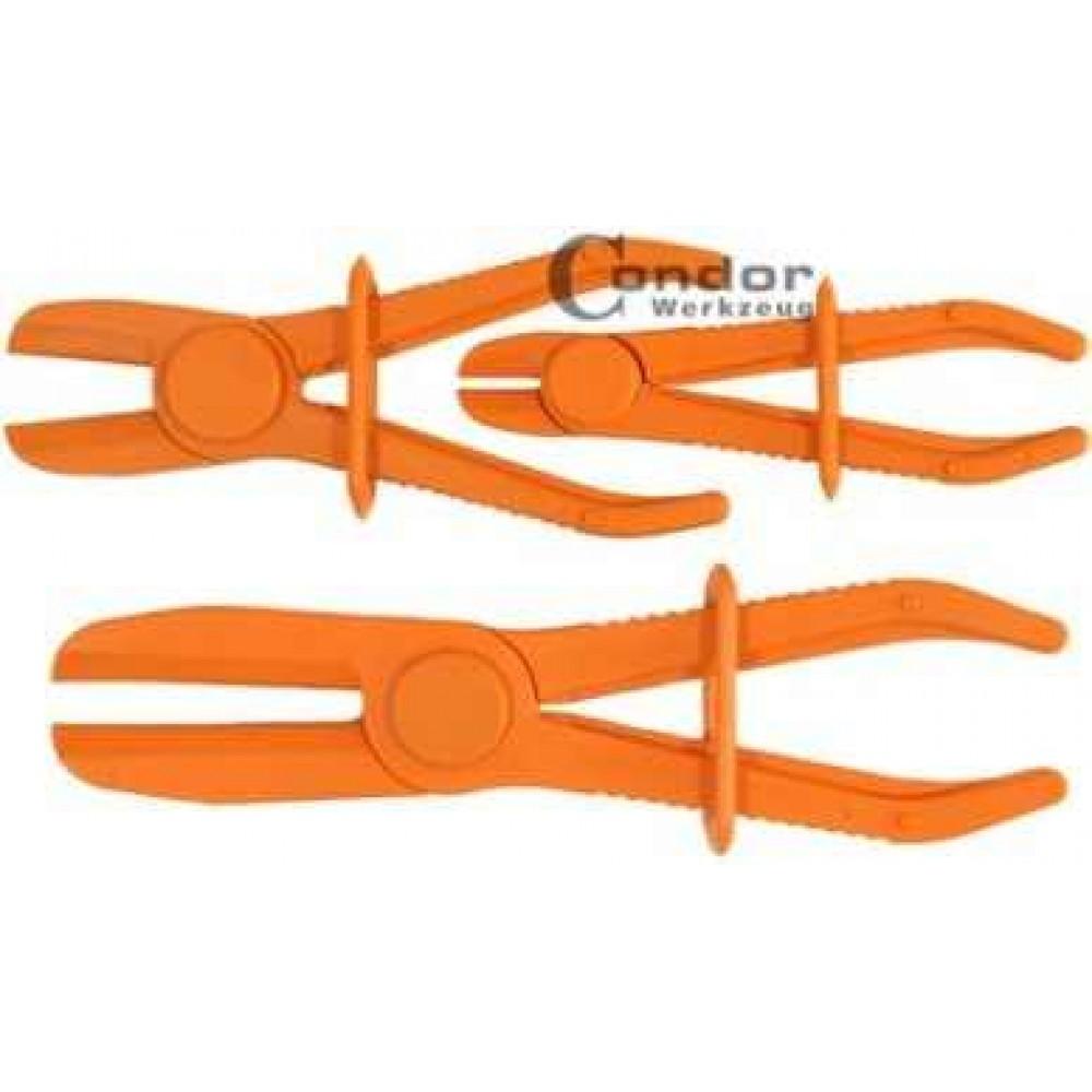 Zaciskarki przewodów elastycznych, 3 szt. 150 - 180 - 250 mm CONDOR WERKZEUG
