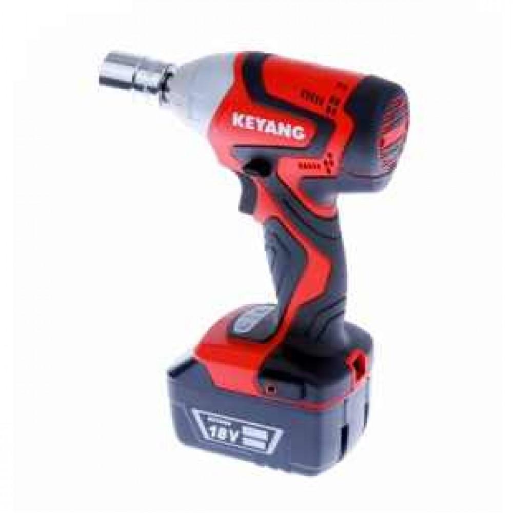 """Klucz udarowy-akumulatorowy 18V, 3.0Ah*2 HEX 1/2"""" (12,7mm) KEYANG"""