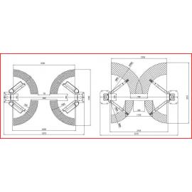 Podnośnik dwukolumnowy TLTE-32 SBA LAUNCH