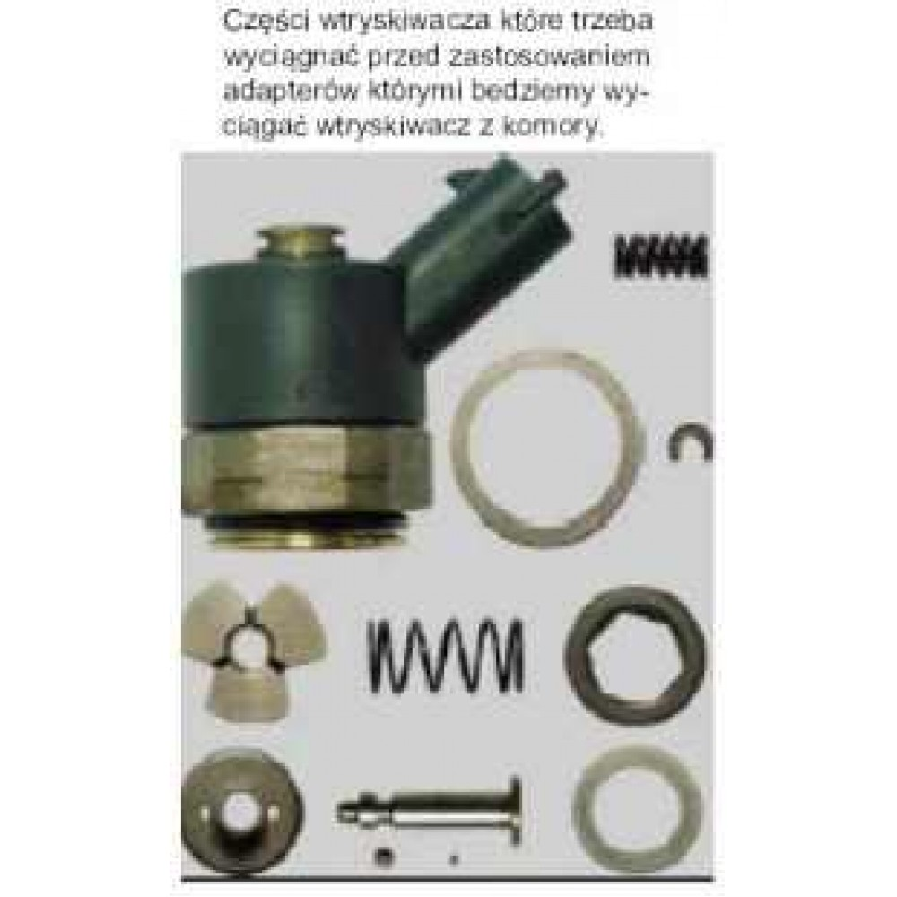 Adaptery wtryskiwaczy do młota bezwładnosciowego 8kg i siłowników hydraulicznych 11 cz. PICHLER
