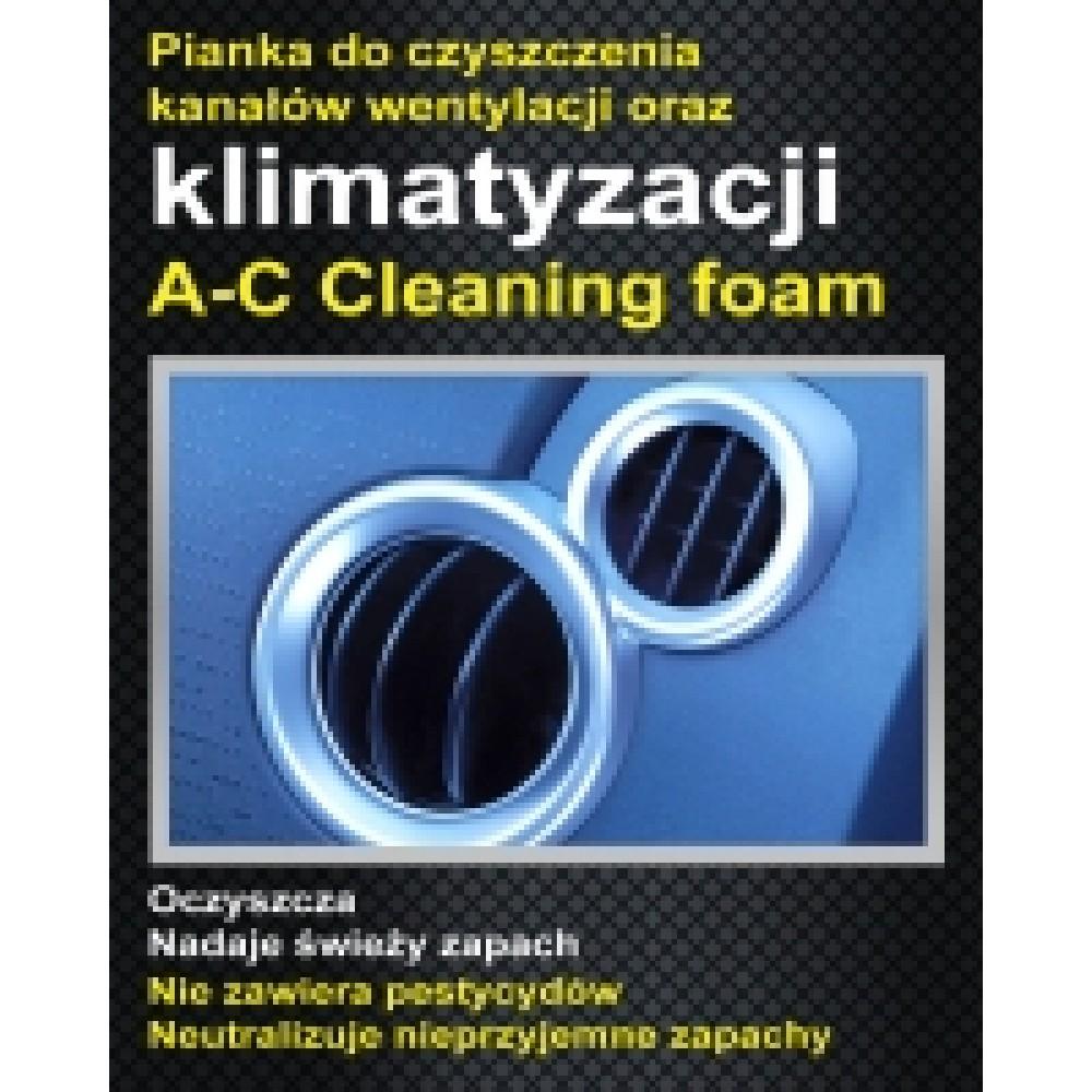 Pianka do czyszczenia klimatyzacji AC Cleaner 400ml SJD PRO-TECH