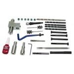 Naprawa gwintów śrub mocujących wtryskiwacz w Fiat Ducato, 27 cz. zestaw narzędzi TRIUMF