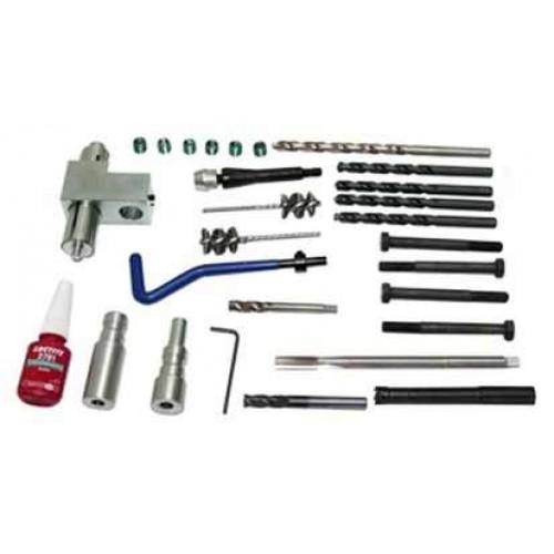 Zestaw do odwiercania i naprawy gwintów śrub mocujących wtryskiwacz w Fiat Ducato, 27 cz. TRIUMF