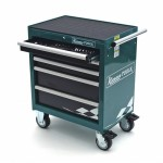 Szafka narzędziowa 5 szuflad z narzędziami, 12 modułów szafka KAMASA