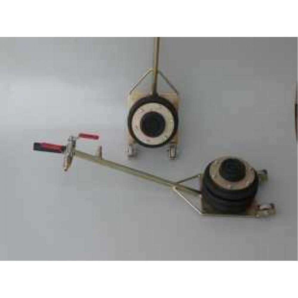 Podnośnik pneumatyczny bałwanek 2 tony