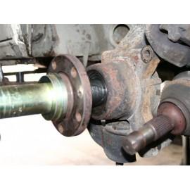 Adaptery do wymiany przedniego łożyska koła w Jumper, Ducato, Boxer WALLMEK