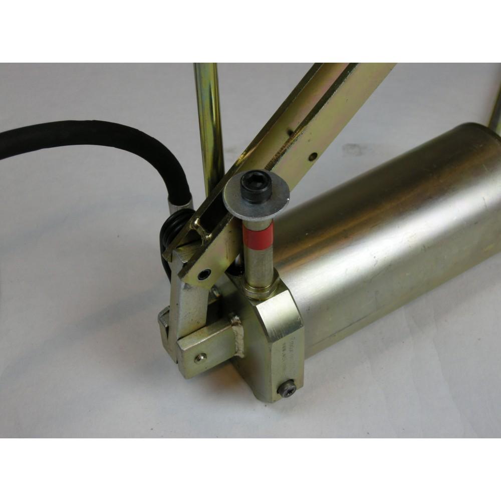 Pompa hydrauliczna nożna 700 Bar komplet - WALLMEK