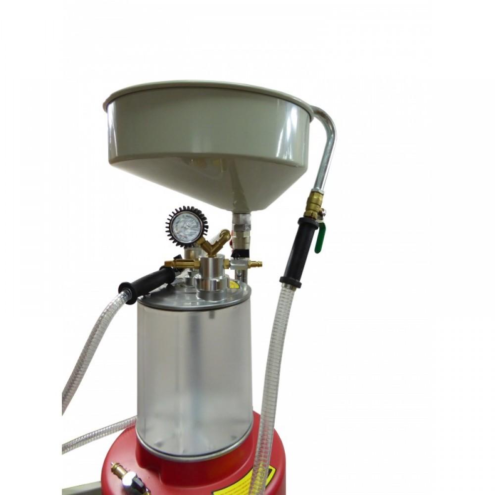 Zlewarko-wysysarka do oleju 85 litrów